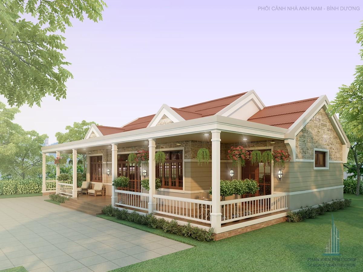 Biet Thu Vuon Phong Cach 15